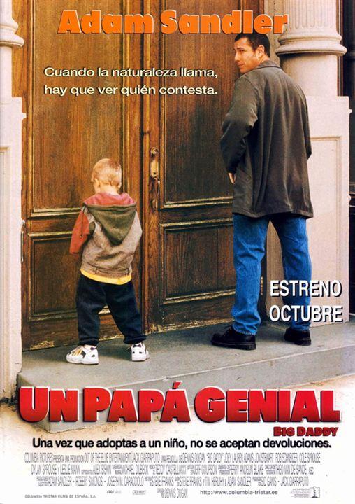 Un papá genial : Cartel