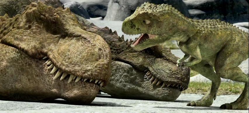 Tarbosaurus 3D : Foto