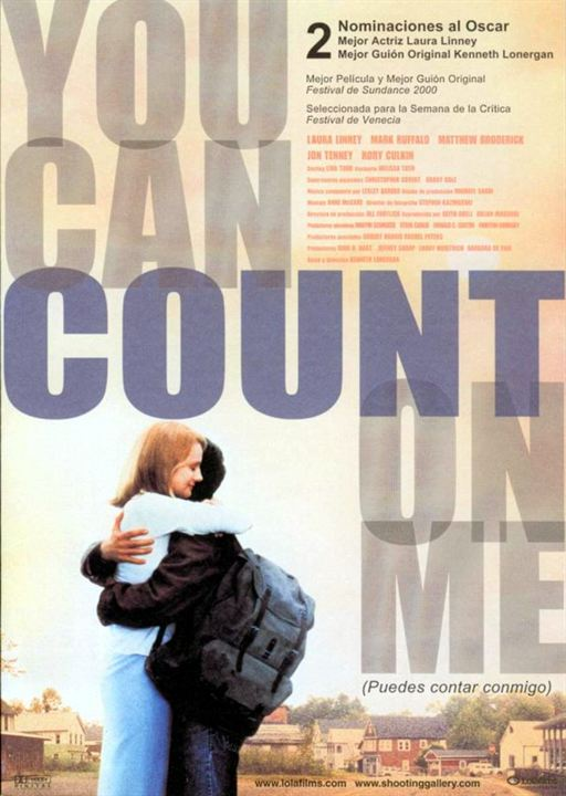 You Can Count On Me (Puedes contar conmigo) : Cartel