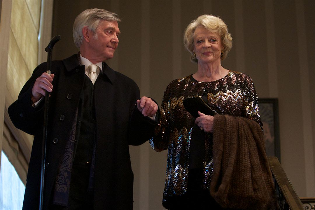 El cuarteto : Foto Maggie Smith, Tom Courtenay