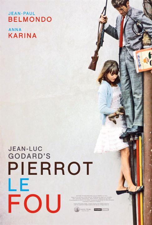 Pierrot el loco : Cartel