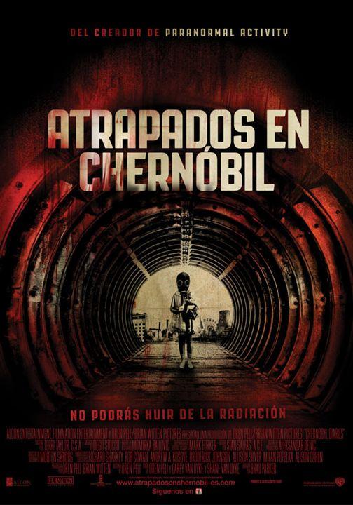 Atrapados en Chernóbil : Cartel