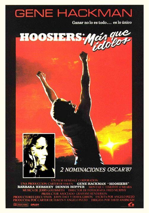 Hoosiers, más que ídolos : Cartel