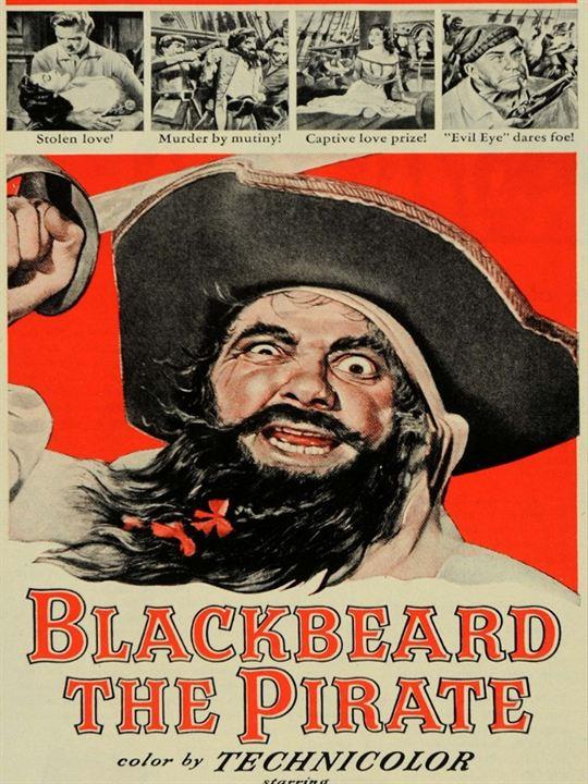 El pirata Barbanegra : Cartel