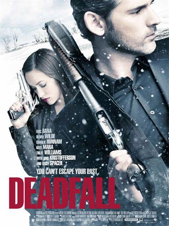 La huida (Deadfall) : Cartel