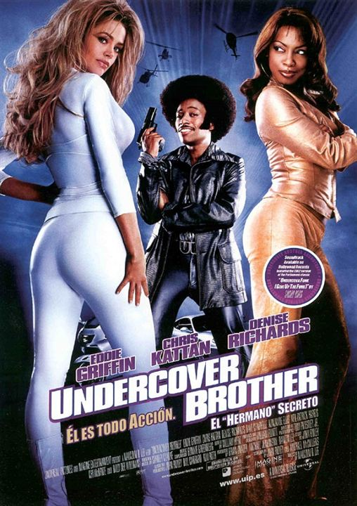 "Undercover Brother (El ""hermano"" secreto) : Cartel"