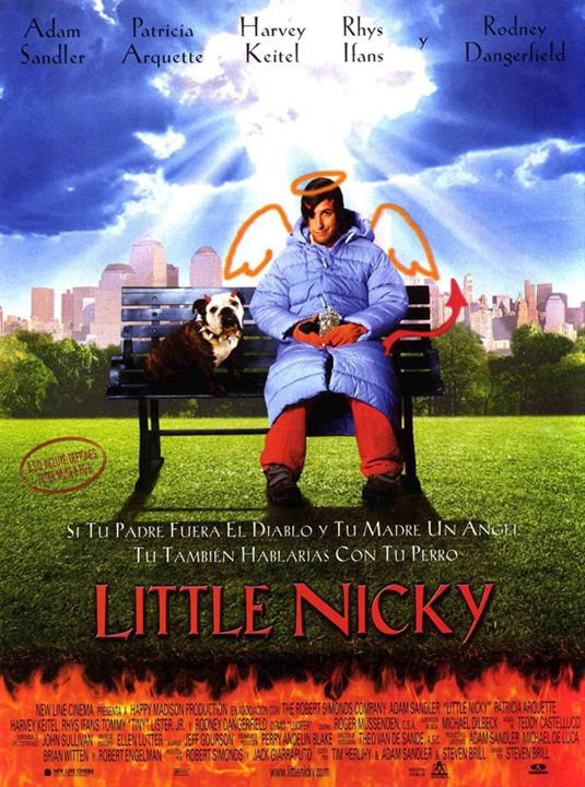 póster little nicky