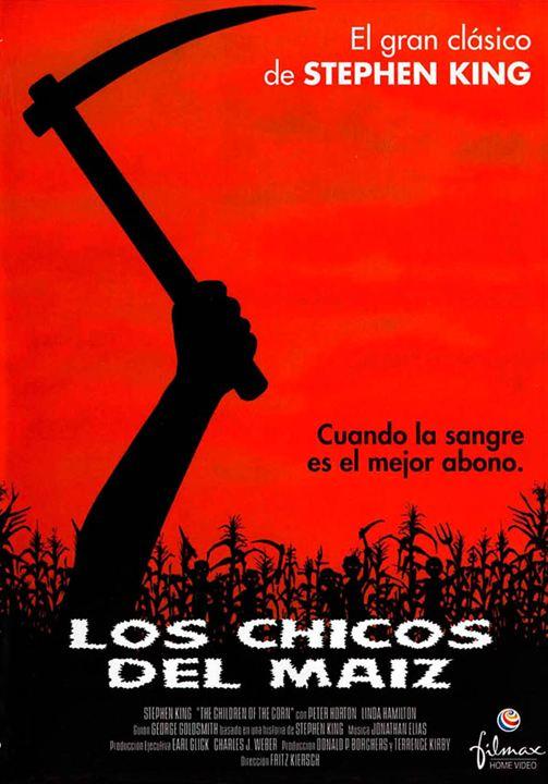 Los chicos del maíz : cartel