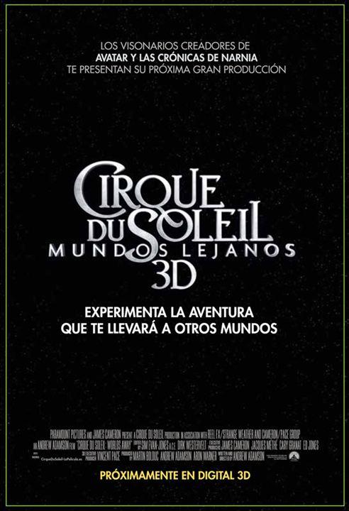 Cirque du Soleil: Mundos lejanos 3D : Cartel