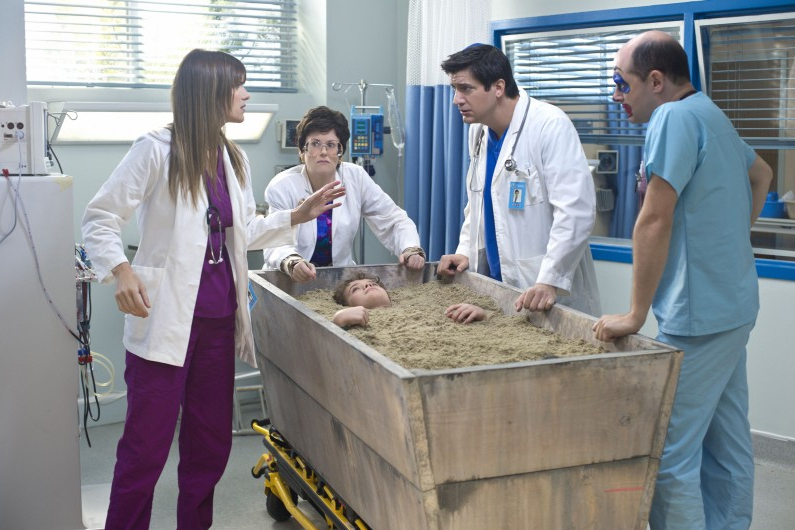 Childrens' Hospital : Foto Ken Marino, Lake Bell, Megan Mullally, Rob Corddry