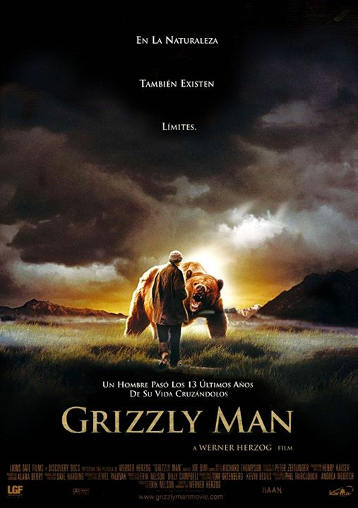 Grizzly Man : cartel
