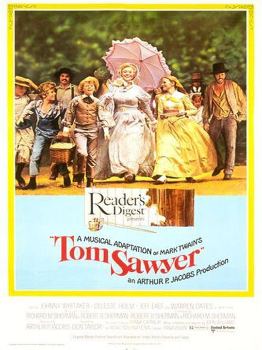 Las aventuras de Tom Sawyer : Cartel