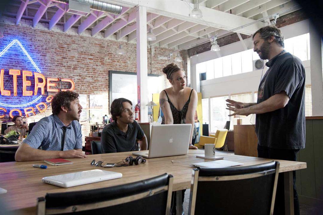 Si fuera fácil : Foto Chris O'Dowd, Judd Apatow, Lena Dunham, Paul Rudd