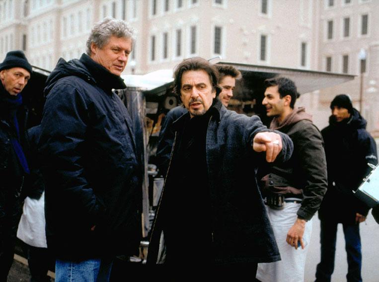La prueba : Foto Al Pacino, Roger Donaldson
