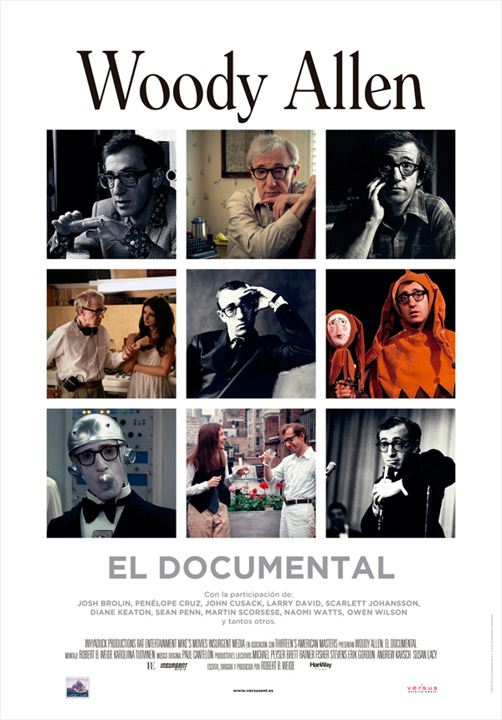 Woody Allen: El documental : Cartel