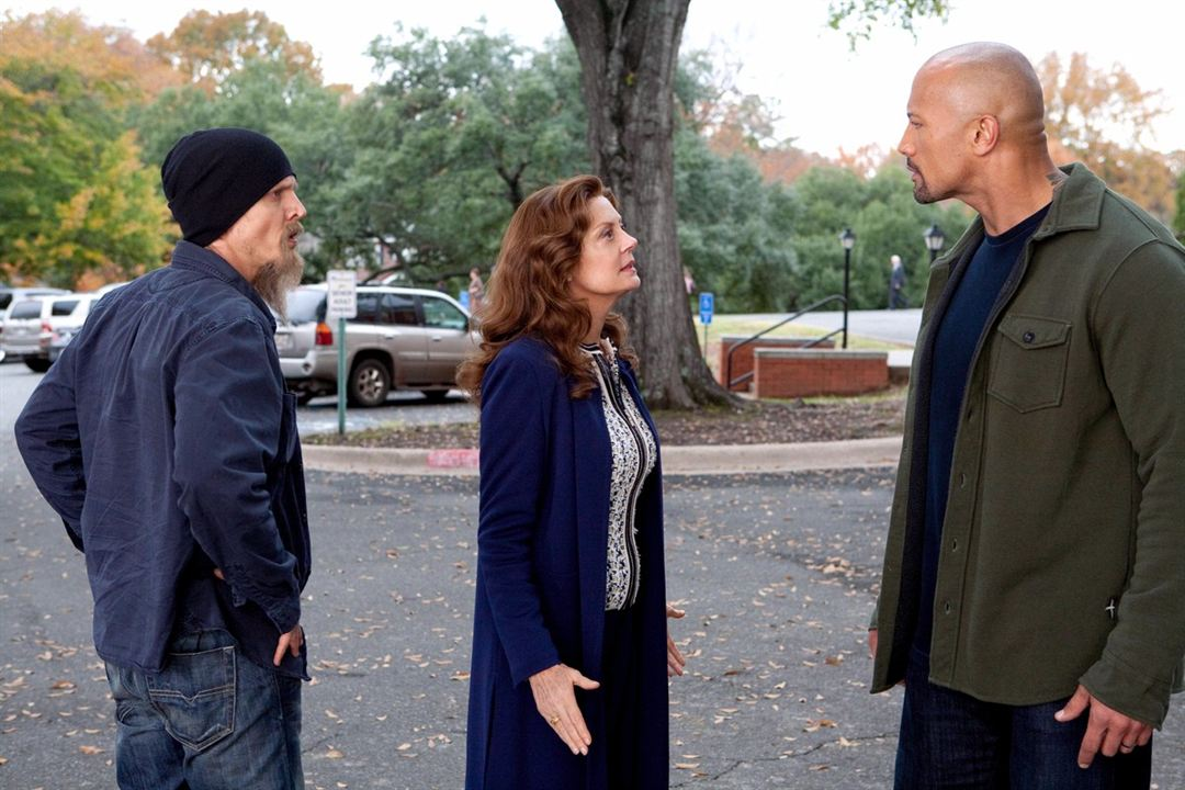 El mensajero : Foto Barry Pepper, Dwayne Johnson, Susan Sarandon