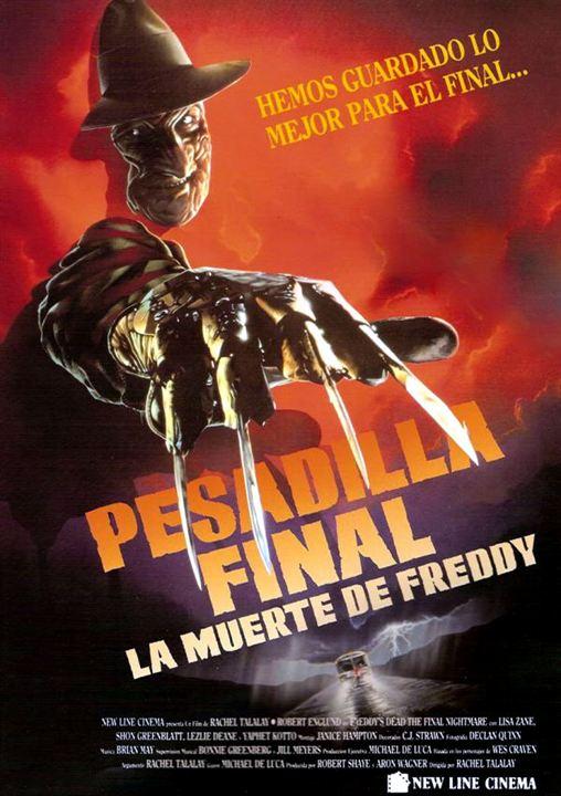 Pesadilla final: la muerte de Freddy : Cartel