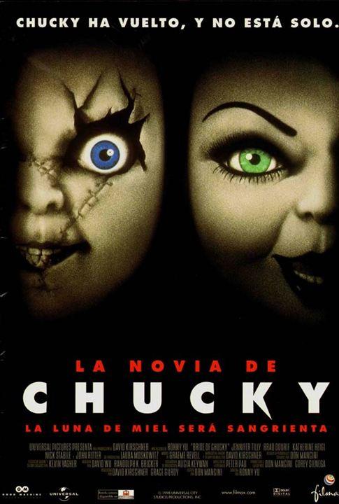 La novia de Chucky : Cartel