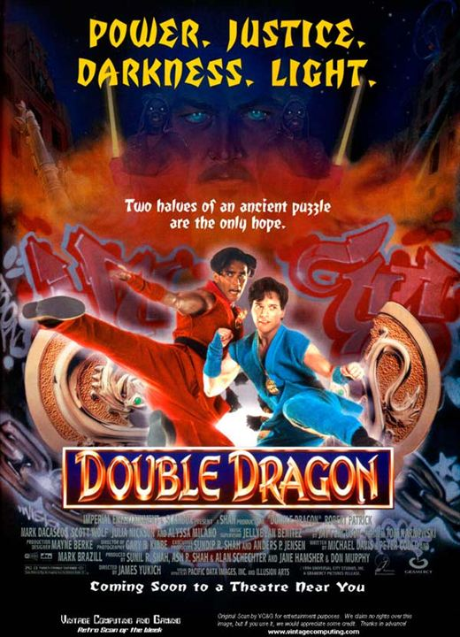 Doble Dragón : Cartel