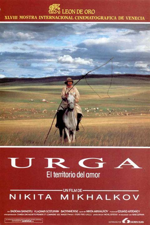 Urga, el territorio del amor : Cartel