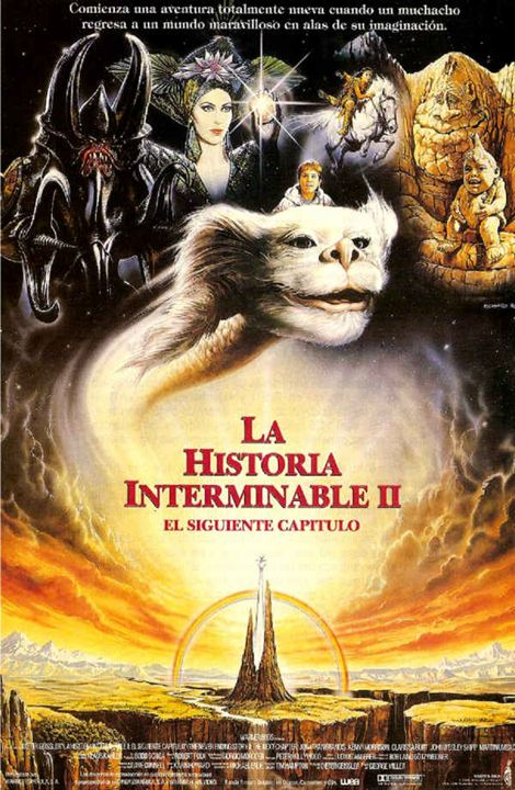 Cartel de La historia interminable II - El siguiente