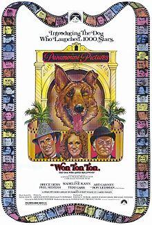 Won Ton Ton, el perro que salvó Hollywood : cartel