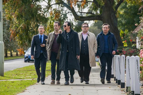 Bienvenidos al fin del mundo : Foto Eddie Marsan, Martin Freeman, Nick Frost, Paddy Considine, Simon Pegg