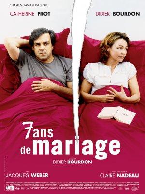 7 años de matrimonio : cartel