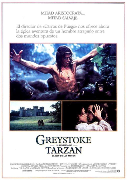 Greystoke, la leyenda de Tarzán, el rey de los monos : Cartel