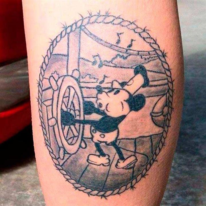 25 Tatuajes Con Los Personajes De Disney Y Pixar El