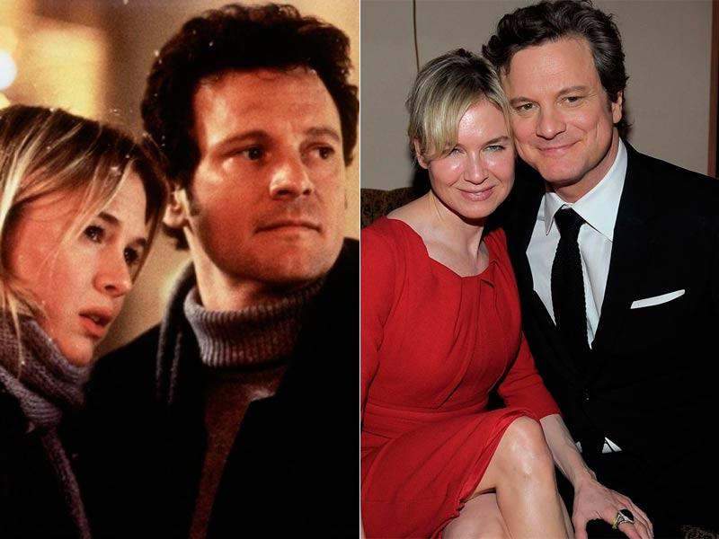 Renee Zellweger y Colin Firth