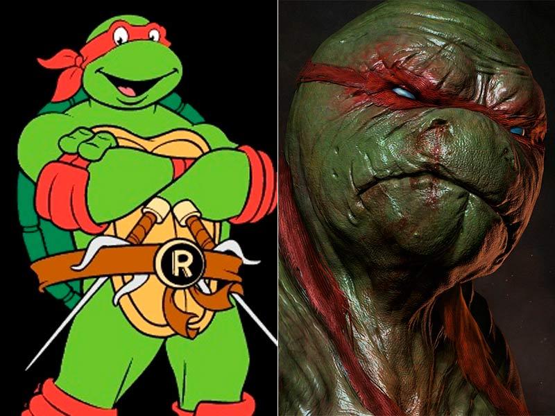 Si los dibujos animados fuesen criaturas reales serían terroríficos ...