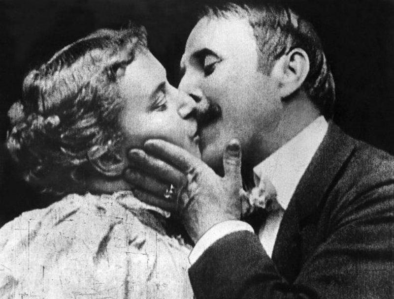 May Irwin y el primer beso de la historia del cine