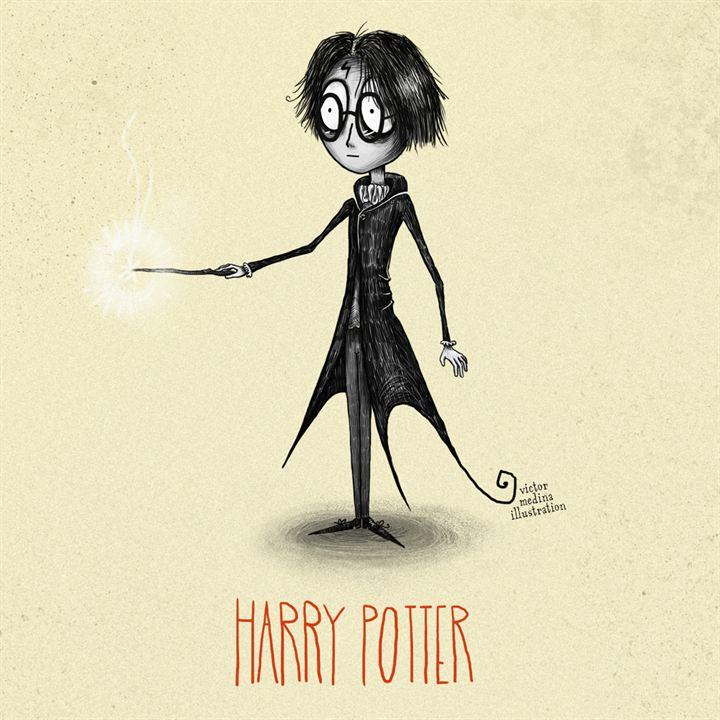 Alucina con estos increíbles dibujos de los personajes de Harry ...