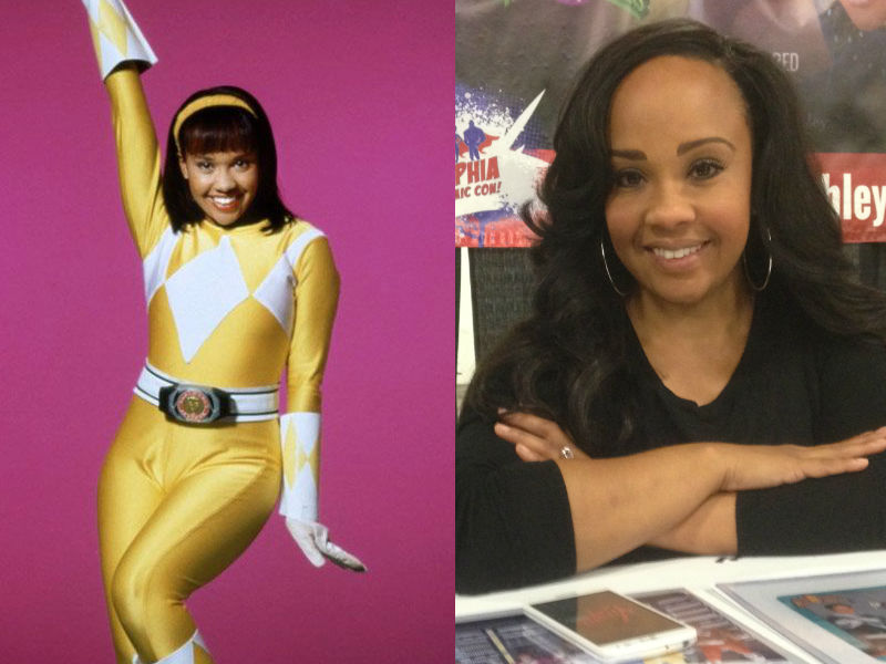 Karan Ashley era la Aisha Campbell / La Ranger Amarilla