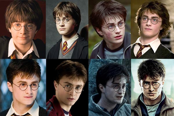 El actor Daniel Radcliffe ha interpretado a Harry Potter en todas las películas