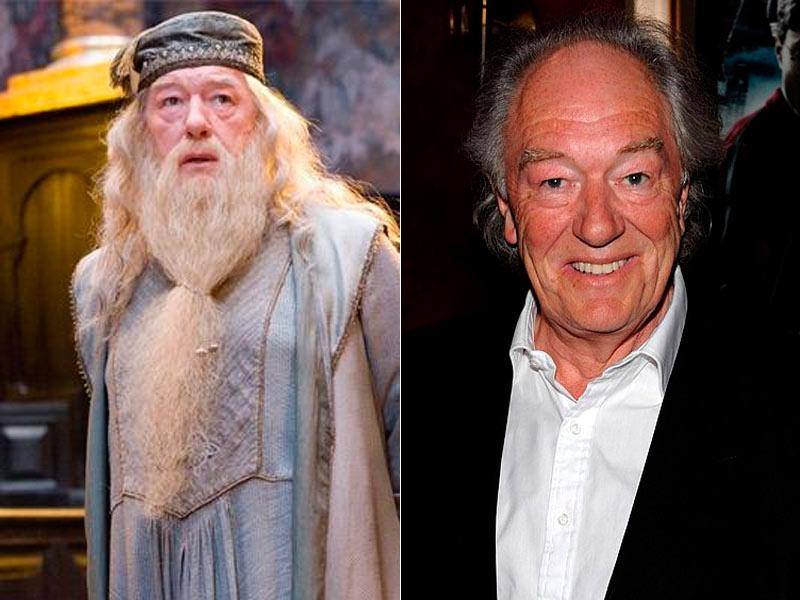 Michael Gambon es Albus Dumbledore