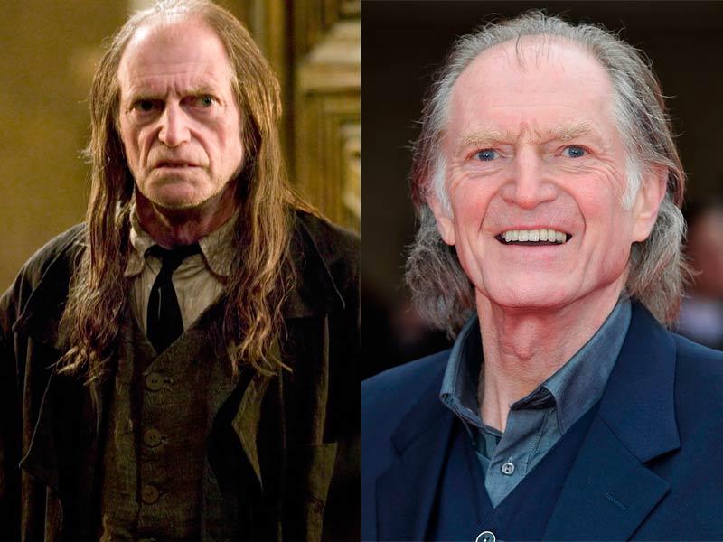 David Bradley es Argus Filch