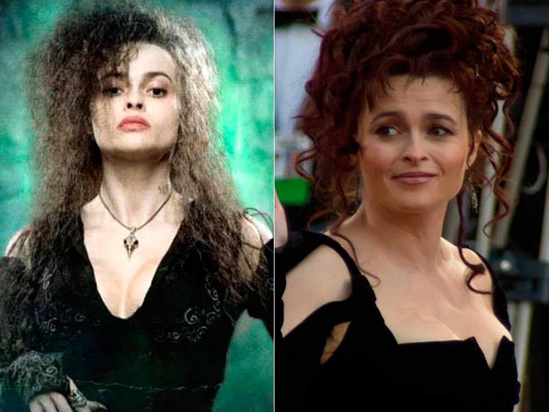 Helena Bonham Carter es Bellatrix Lestrange