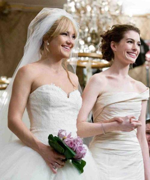los 35 mejores vestidos de novia del cine: 'guerra de novias