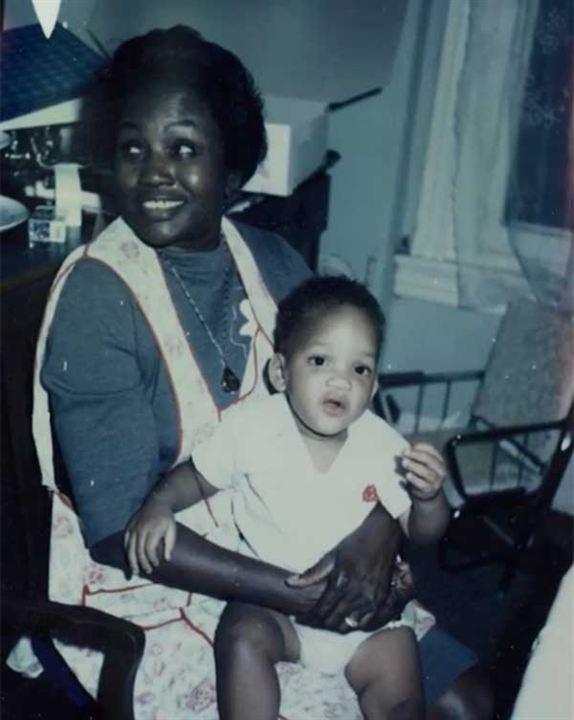 Will Smith con su abuela de pequeño