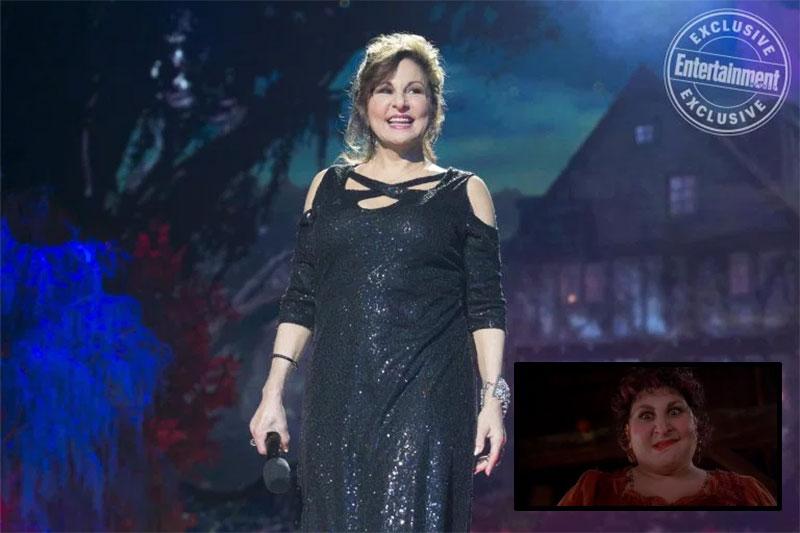 Kathy Najimi era Mary Sanderson, una de las tres hermanas brujas