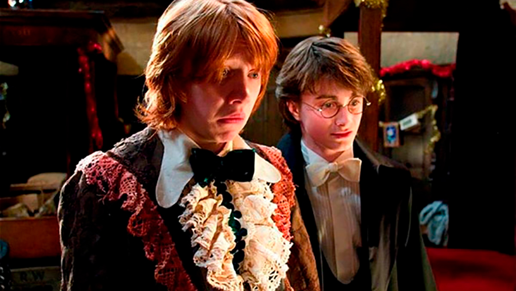 """Ron, preocupado: """"¡Me parezco a mi tía abuela Tessie!"""""""