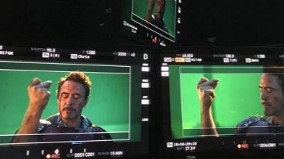 Robert Downey Jr., a punto de chasquear los dedos