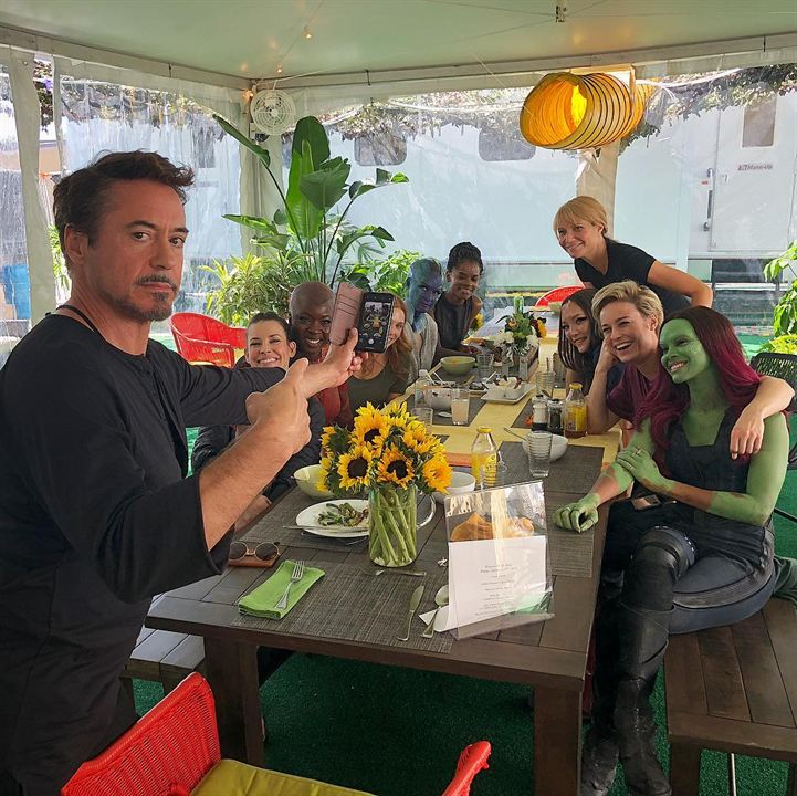 Robert Downey Jr. y las heroínas de Marvel
