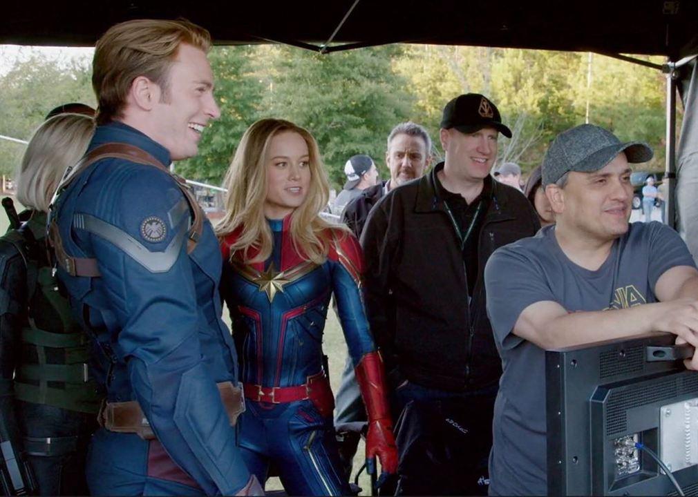 Chris Evans y Brie Larson