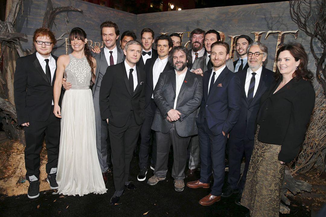 El Hobbit: La desolación de Smaug : Couverture magazine Aidan Turner, Benedict Cumberbatch, Dean O'Gorman, Evangeline Lilly, Howard Shore