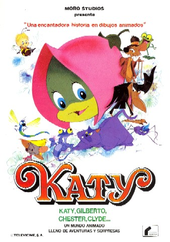 Katy, la oruga : Cartel