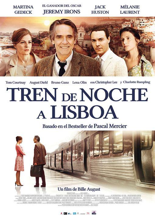 Tren de noche a Lisboa : Cartel
