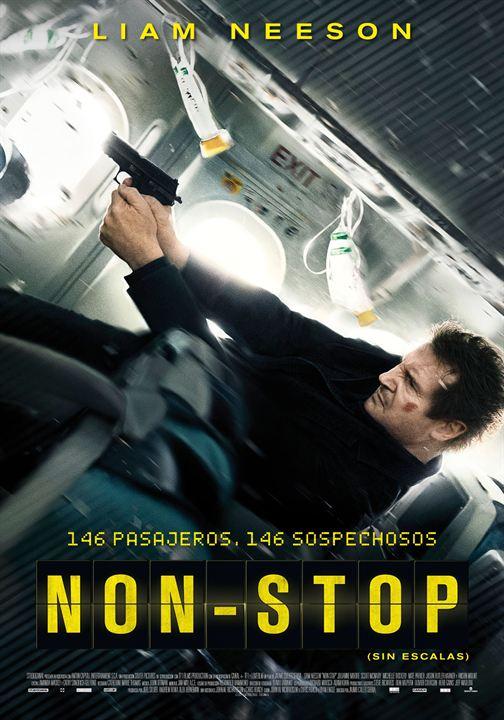 Non-Stop (Sin escalas) : Cartel